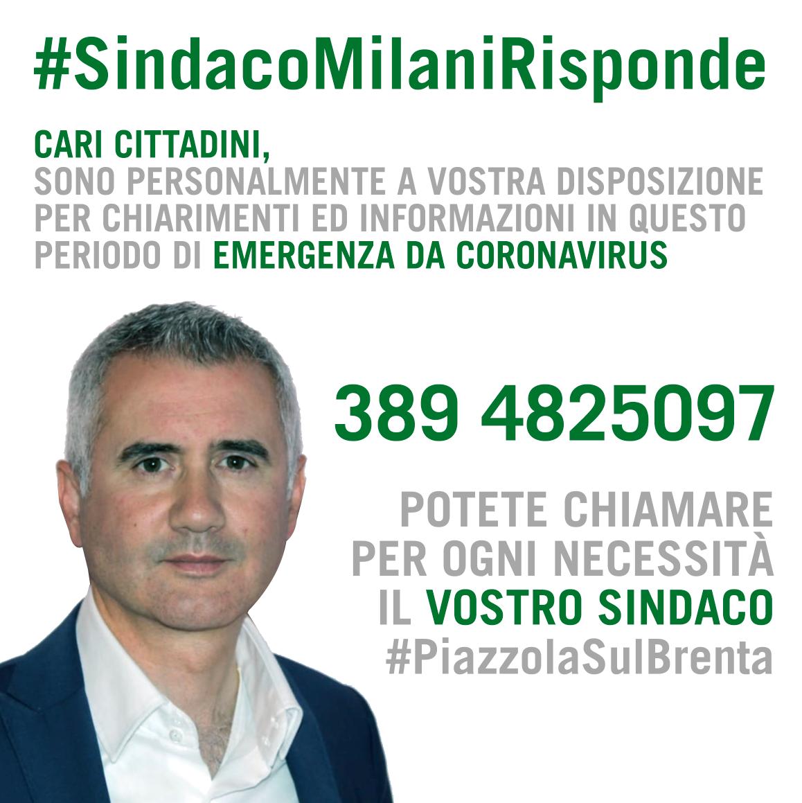 #SindacoMilaniRisponde