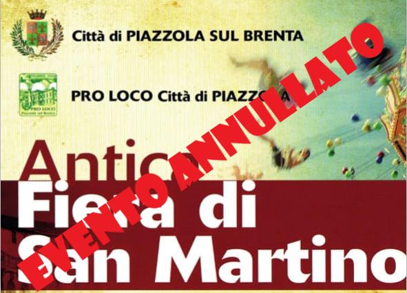 Evento Fiera di San Martino 2020 Annullato